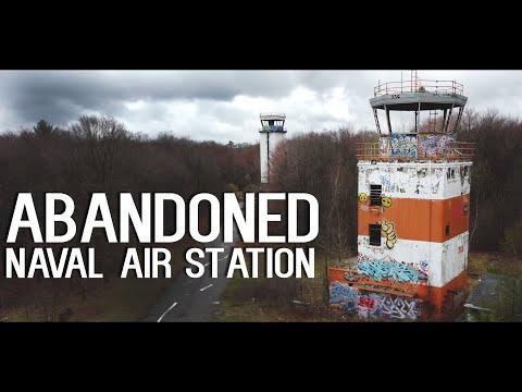 Abandoned Naval Air Station   Massachusetts