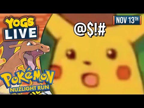 THE ELITE 4! - Pokemon FireRed Nuzlight Challenge W/ Barry & Lydia - 13/11/19