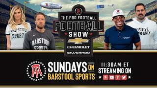 The Pro Football Football Show  Week 7 + Live Aftershow