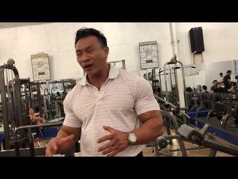 Khaiiibo visits Ly Duc's gym in Ho Chi Minh, Vietnam