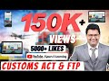 100% Revision of CUSTOMS ACT & FTP of CA Final / CS Final May/June2020 By CA Mahesh Gour