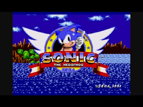 All Classic Sonic The Hedgehog Intros 1991 1997 Hd Youtube