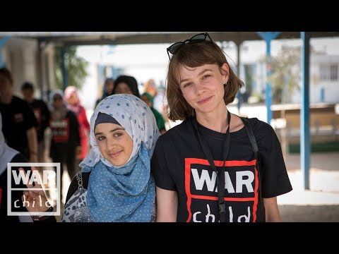 Carey Mulligan calls for action to protect the rights of children fleeing war