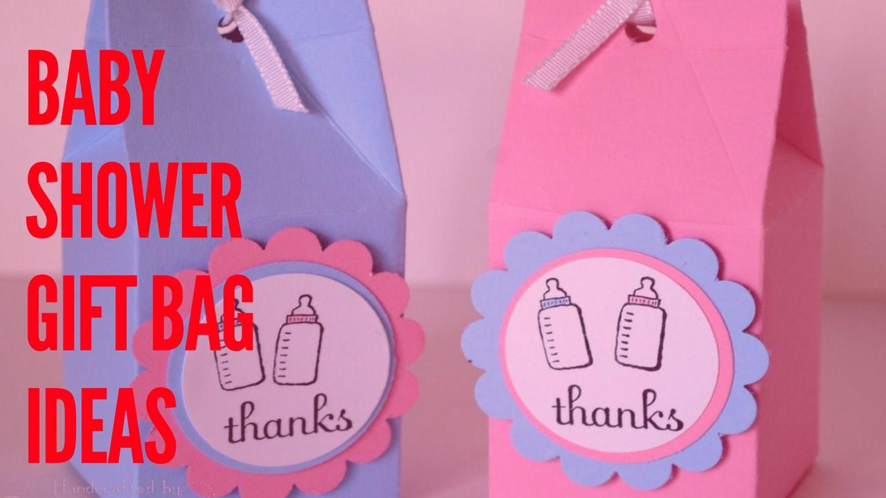 Baby Shower Gift Bag Ideas Youtube