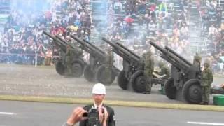 2010年の自衛隊観閲式での演奏です。