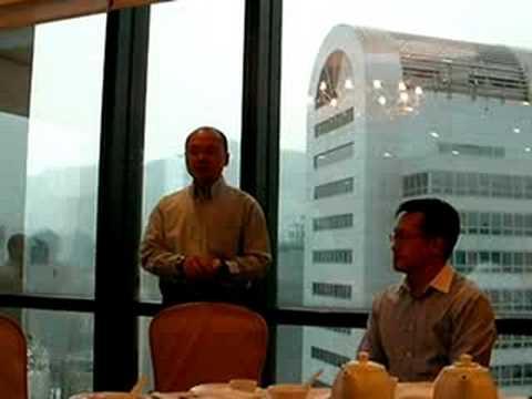 Dr. Samson Tam's speech at CSEAA AGM 2008