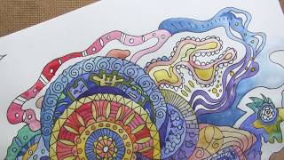 How to Draw a DOODLE - MANDALA.