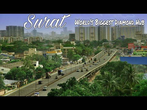 Amazing Facts About Diamond City SURAT (In Hindi)| Plenty Facts About Surat City Gujarat India|Surat