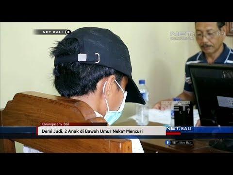 NET. BALI - DEMI JUDI DUA ANAK DI BAWAH UMUR NEKAT MENCURI