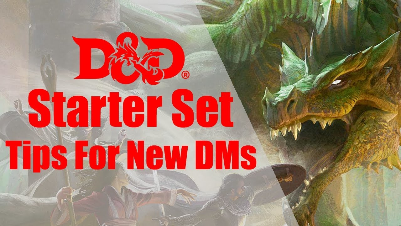 D&D 5e Starter Set Tips For New DMs