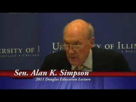 IGPA Douglas Education Lecture - Alan K. Simpson