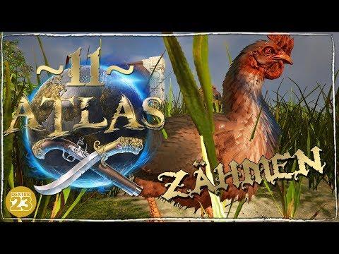 ATLAS ● Erste Zähmung! Blindes Huhn! ● 11 | Let's Play Deutsch German MMO