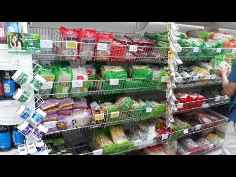 Weekend at Big C supermarket in Can Tho city in Vietnam