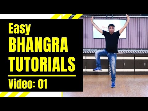 Easy Bhangra Tutorials (Video 01)   Learn Bhangra Steps for Beginners   Step2Step Dance Studio