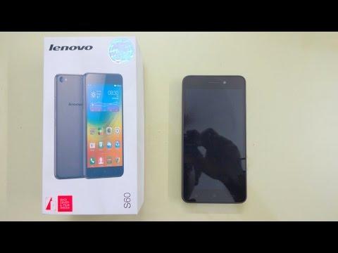 Lenovo S60 Unboxing