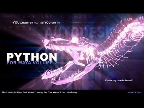 Python For Maya Artists - Volume 2
