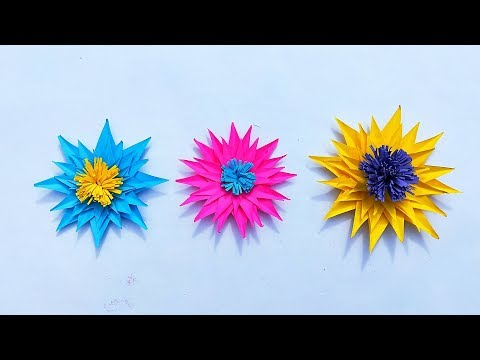 How to make Beautiful Paper Flower || DIY Easy Paper Flower