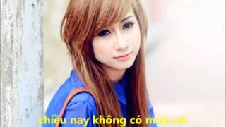 Chiều Nay Không Có Mưa Bay - Thái Tuyết Trâm + MR.Trung (guitar)
