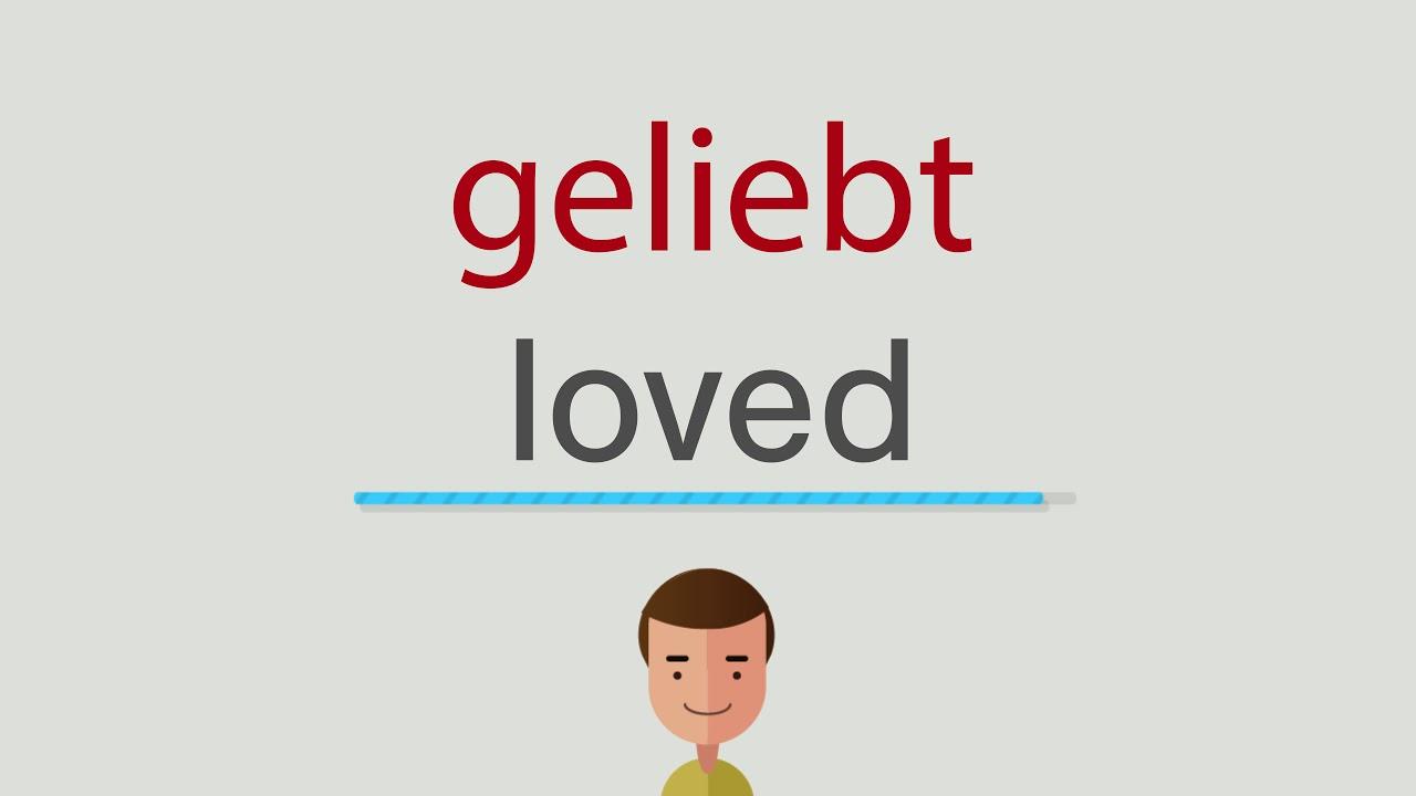 geliebt englisch