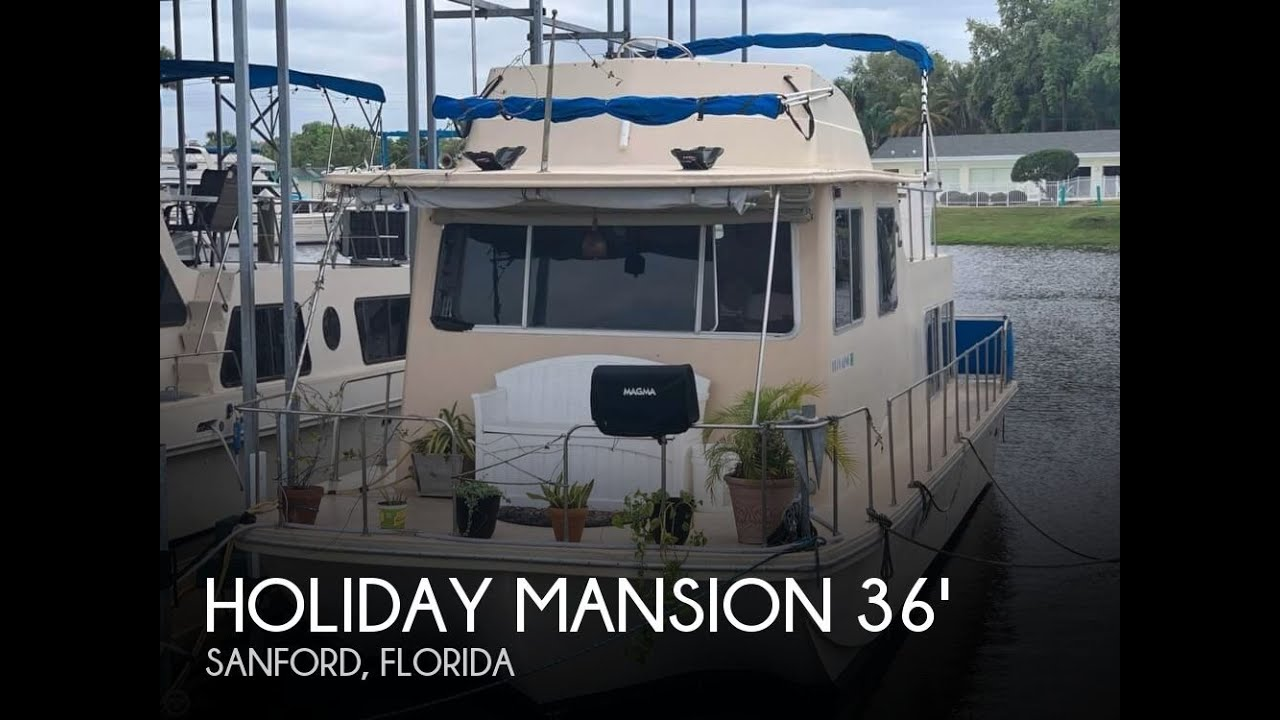 Used 1983 Holiday Mansion 36 Barracuda Flybridge for sale in Sanford,  Florida