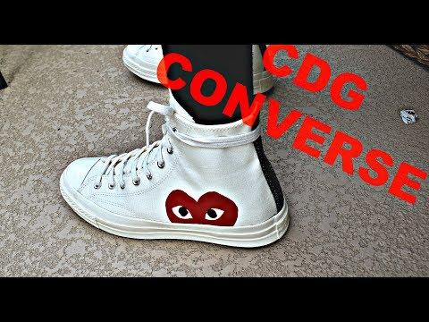 cdg converse dirty
