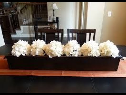Centerpiece Ideas For Dining Room Tables Youtube