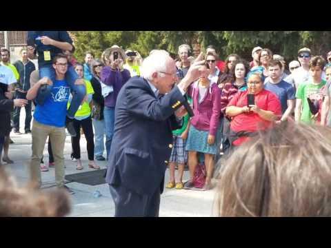 Bernie Sanders MSU-Bozeman Montana May 21 2017