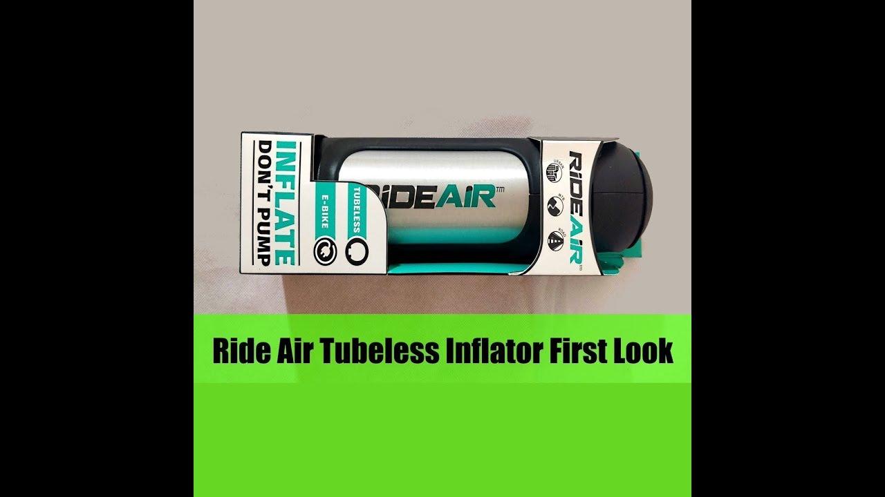 RideAir Tubeless Inflation