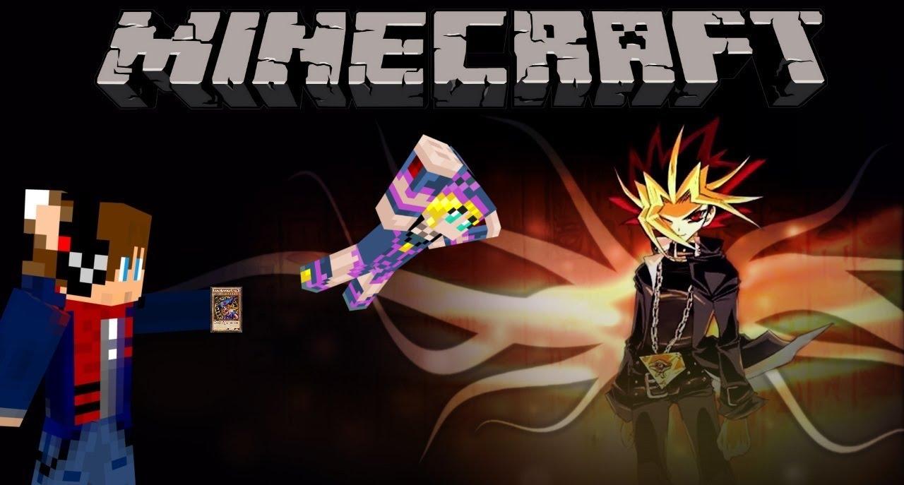 Minecraft Mod Duel Monsters YuGiOh YouTube - Skin para minecraft de yugioh