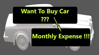 Cost to own car | Should you buy car ? | How much to spend on car in India | Car liability screenshot 3