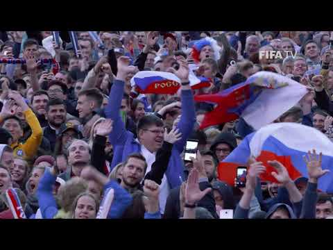 Russian Celebrations at the FIFA Fan Fest!