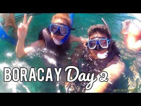 BORACAY DAY 2! (Island Hopping, Coconuts by PUKA BEACH!) - saytiocoartillero