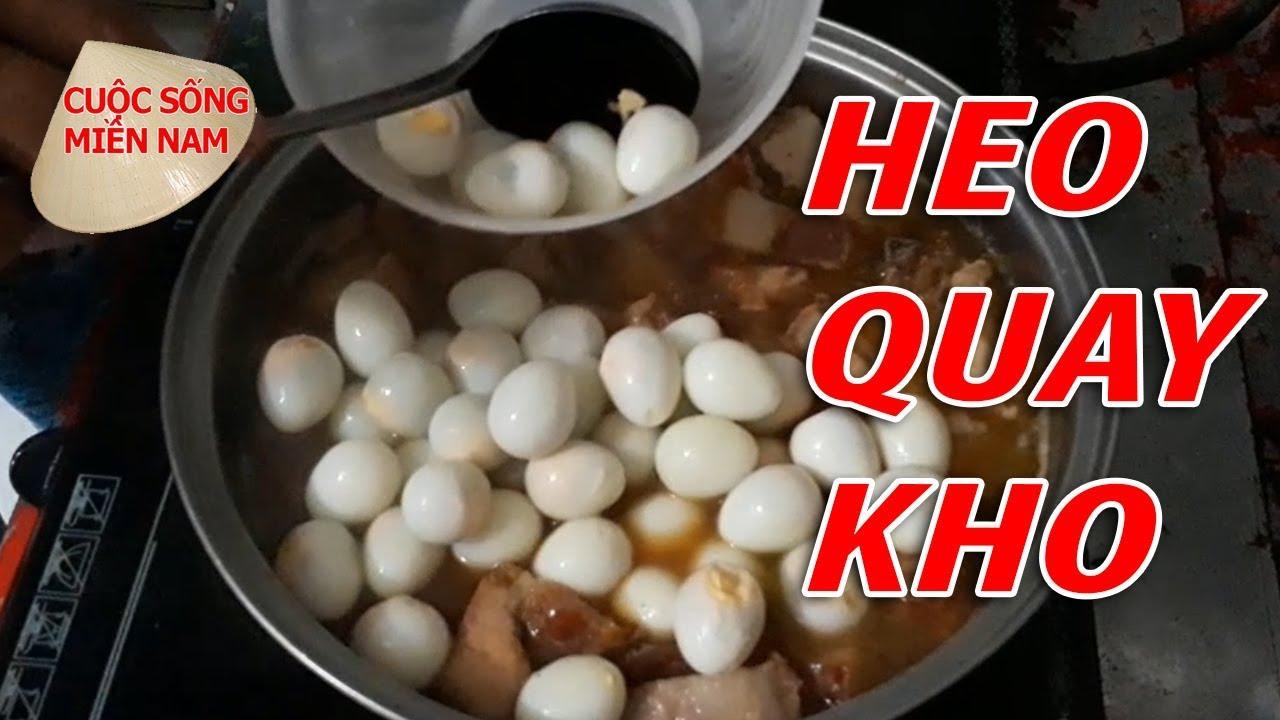 HEO QUAY KHO NƯỚC DỪA TRỨNG CÚT | VietNam Travel - Food