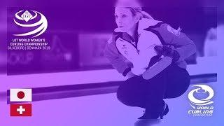 Japan v Switzerland - round robin - LGT World Women's Curling Championships 2019