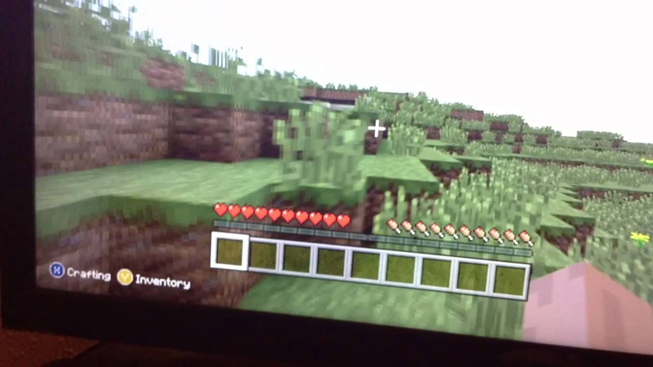 How to play minecraft xbox 11 edition offline splitscreen - YouTube