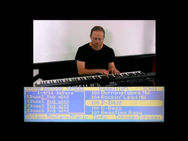 2 Kurzweil PC3 Series: Program Mode Overview