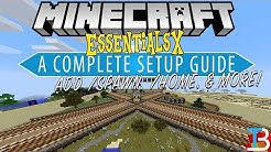 How To Setup EssentialsX on Your Minecraft Server (Add Kits, /Spawn, & More to A Minecraft Server!)