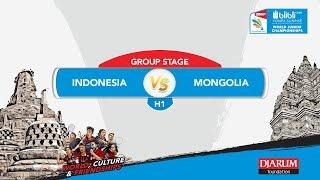 BLIBLI.COM WJC 2017 | GROUP STAGE - H1 | INDONESIA vs MONGOLIA | MD