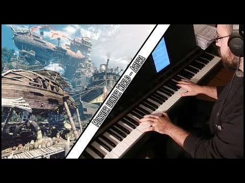 Monster Hunter World - Cornerstone of the New World ~ Astera (Piano Cover) thumbnail