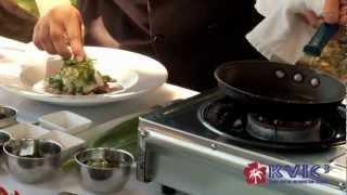 Hawaiian King Moi Pesto Demo - Roy's Poipu - Kvic-tv, Mykauai.com [chef Demo]