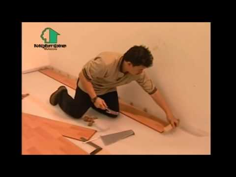 Hdf Laminate Floor Installation Youtube