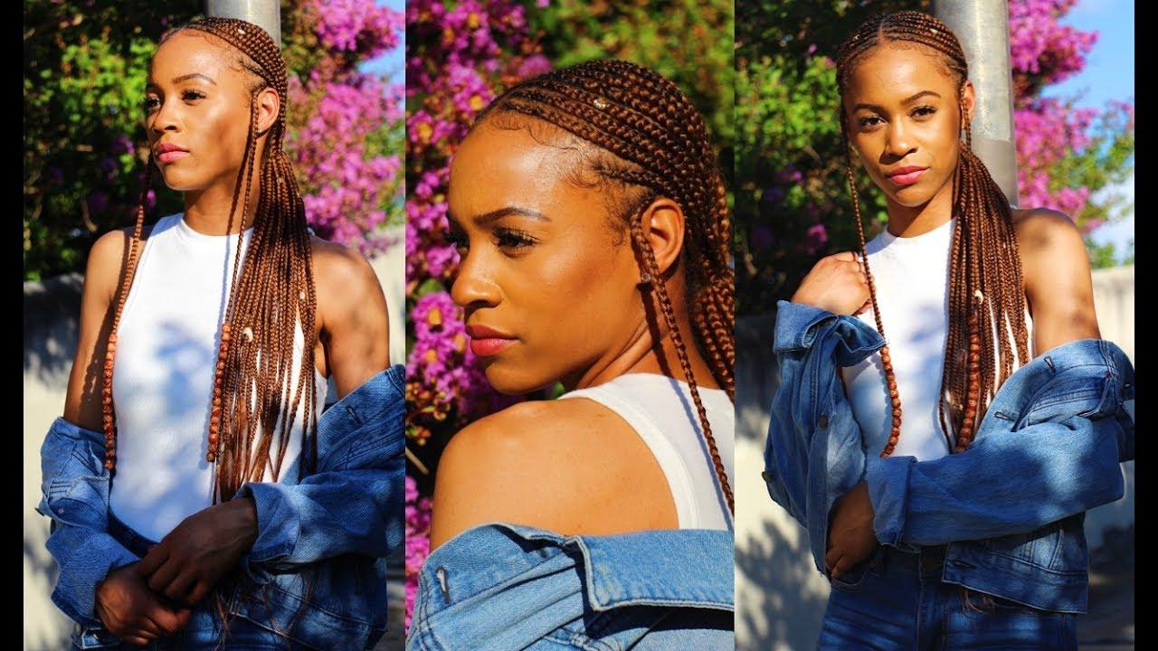 How I Accessorize My Alicia Keys Cornrow Braids
