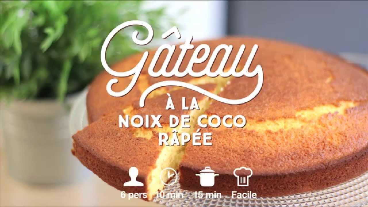 Gâteau à La Noix De Coco Râpée Youtube