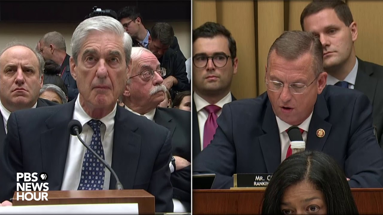 Rep. Doug Collins' full opening statement at Mueller hearing | Mueller testimony