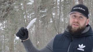 Нож КИСТЕНЬ Росоружие. Уличный тест
