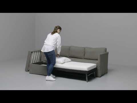 Ikea Lycksele Chauffeuse Convertible Youtube