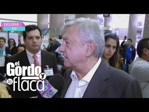 Andrés Manuel López Obrador cuenta lo que sabe sobre la desaparición de objetos en Los Pinos | GYF