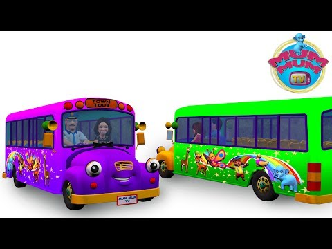 Wheels on the Bus Song, Nursery Rhymes for children, Songs for Children|Ants go marching|MUM MUM TV Mp3