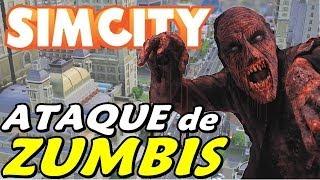 SimCity #2 - Hospital, Delegacia, Bombeiros e Zumbis?!?!