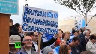 Телекомпанию BBC обвиняют в необъективном освещении событий накануне референдума в Шотландии